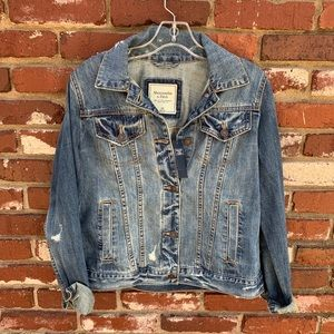 NWT Abercrombie & Fitch Denim Jacket